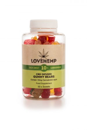 CBD Gummies 10mg per bear 50 Pack