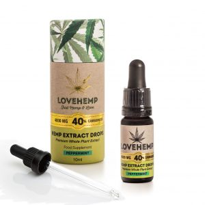 CBD Hemp Oil - 4000mg 40% CBD (10ml) Natural