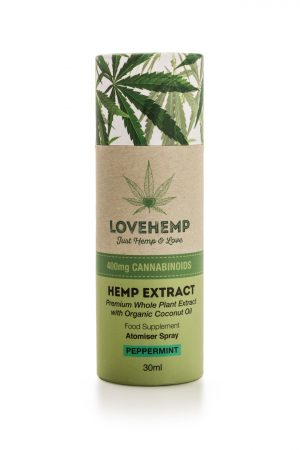 CBD Hemp Oil Spray - 200mg (30ml) Peppermint