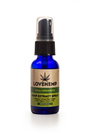 CBD Hemp Oil Spray - 200mg (30ml) Natural