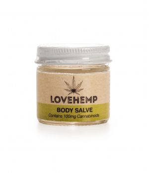 Hemp Extracted Body Salve 300mg CBD - 50ml