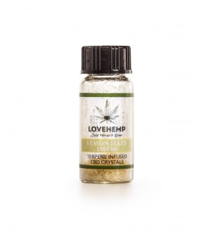 Terpene Infused CBD Crystal 90% CBD + 10% Terpene 1000mg (Lemon Haze)